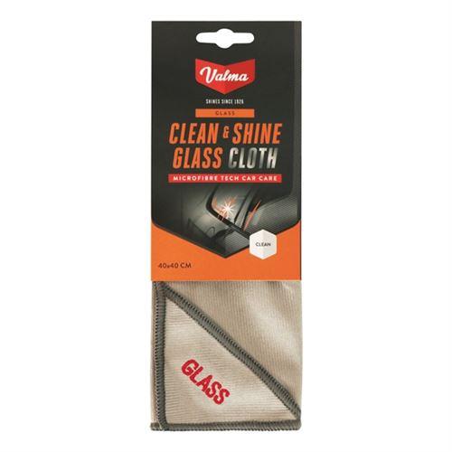 Valma tissu de verre V011 microfibre 40 x 40 cm gris