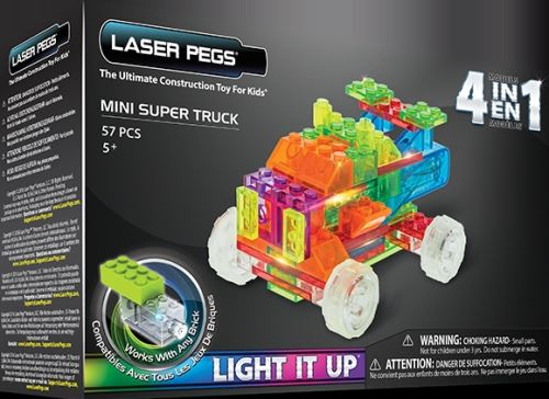 Templar 4 in 1 mini truck laser pegs