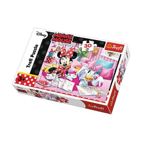 Puzzle Minnie Meilleures amies - + 3 ans - 30 pièces