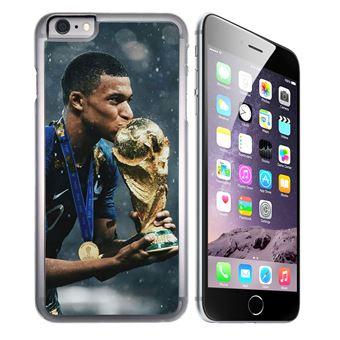 Coque pour iPhone 6 et iPhone 6S mbappe coupe du monde football