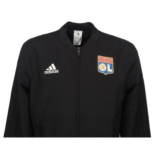 Vestes replica officielle Adidas Lyon veste ol h Noir taille