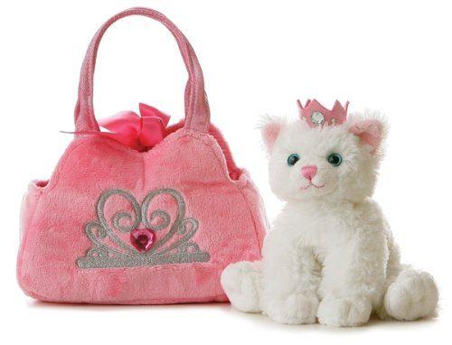 Aurora - Princess Kitten - 20 cm - rose, blanc neige