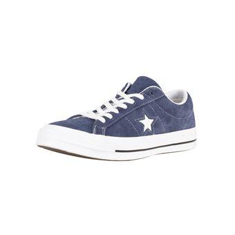 Baskets One Star Ox en Converse et Homme daimBleu Chaussures H2D9EI