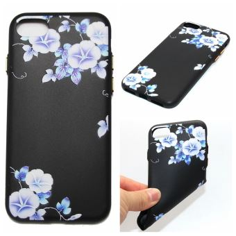coque iphone 6 fleur bleu