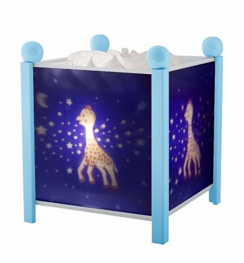 Lanterne magique bleue Sophie la Girafe voie lactée Trousselier