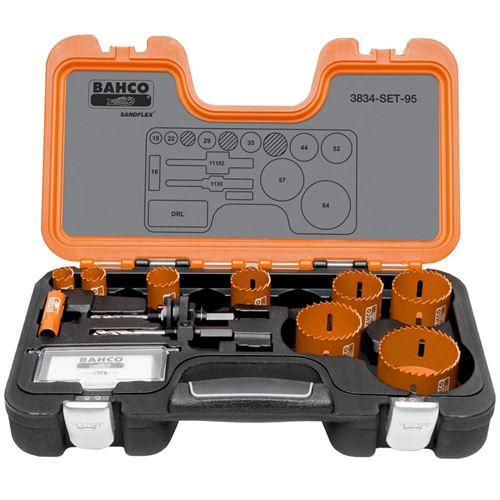BAHCO Scie cloche professionnelle 16-64 mm 3834-SET-95
