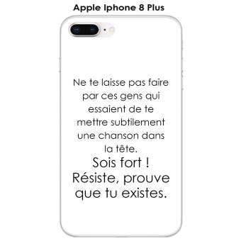 iphone 8 plus coque citations