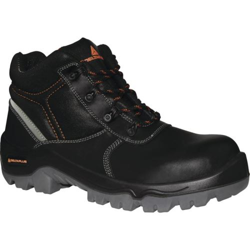 Chaussure Haute Cuir Croupon Pigmente Noir Phoenix S3 Src - Phoens3No42