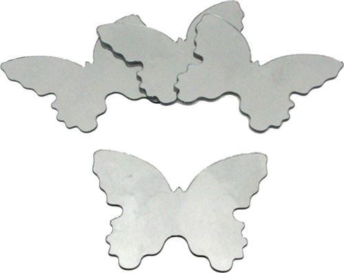 Stickers Miroirs Papillons 4 éléments 12x14cm