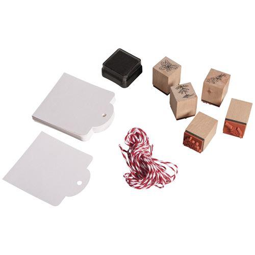 Kit mini-tampons bois - Herbes aromatiques