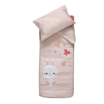 Domiva housse de couette taie d 39 oreiller pour lit b b - Housse de couette pour lit bebe ...