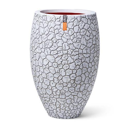 Capi Vase Elegant Deluxe Clay 50x72 cm Ivoire
