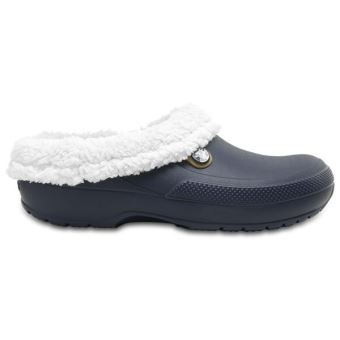 98e61df3870c Crocs Classic Blitzen III Roomy Fit Clogs Chaussures Sandales en Bleu  Marine   Oatmeal 204563 41C  UK M12 US M13  - Chaussures et chaussons de  sport - Achat ...