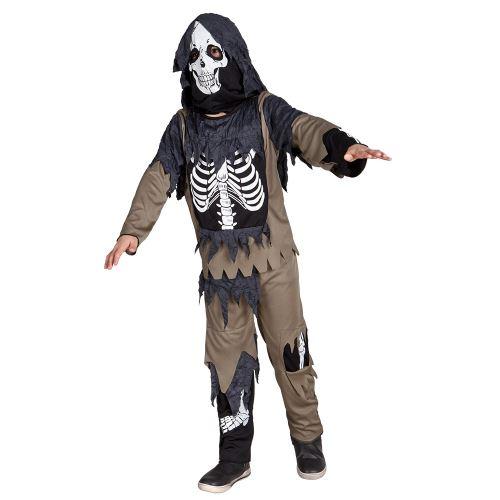 Boland costume d'enfant Zombie Squelette junior polyester 7-9 ans