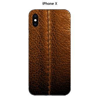 coque iphone x cuir marron apple