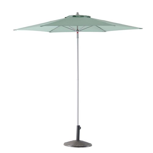 Parasol droit rond Anzio - Diam. 230 cm - Vert sauge