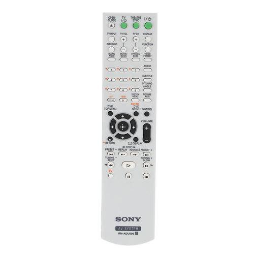 Télécommande de remplacement pour système Sony DVD AV-RM-ADU005 HCD-HDX466 DAV-DZ230