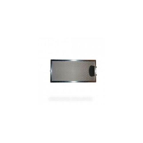 13mc076 filtre inox 290x145x9 poignee zamack pour hotte roblin - sos13mc076