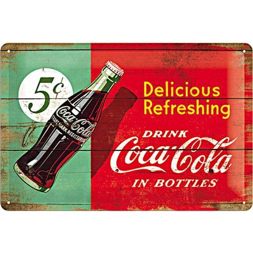 Coca Cola delicious Refreshing - 20 x 30 cm