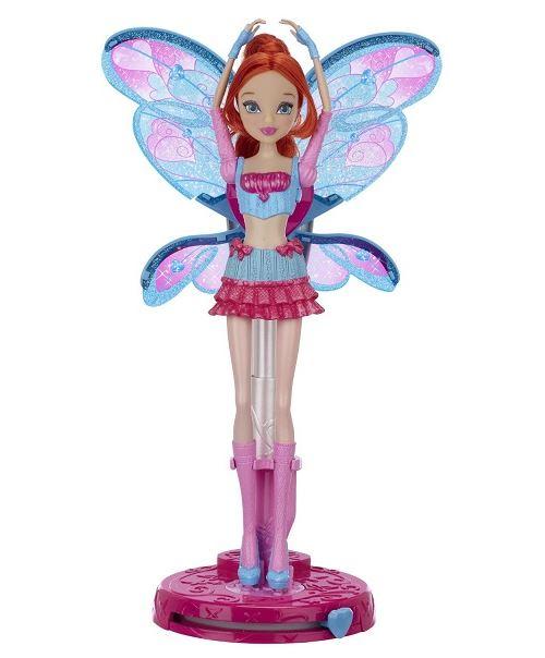 Winx club - magic wing bloom - poupée transformation magique 29cm