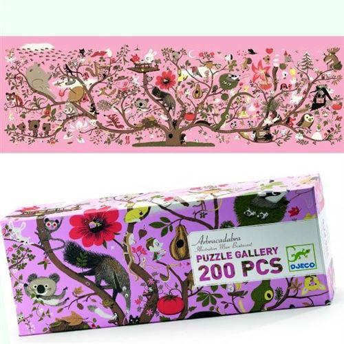 Puzzle Djeco Gallery Abracadabra 200 Pcs Enfants 6 Ans +