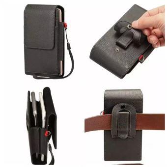 b6206ebd236f COQUE IPHONE 5S, etui ceinture cuir noir - 1070x - EDITION LUXE - Etui pour  téléphone mobile - Achat   prix   fnac