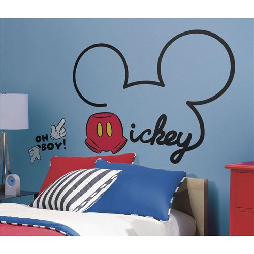 Thedecofactory Mickey - 10 Stickers - 80 x 60 Assemblés