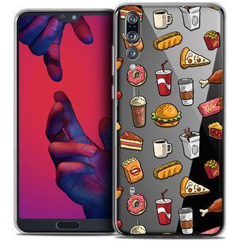 hot sale online presenting offer discounts Coque Huawei P20 PRO (6.1 ) CASEINK Housse Etui [Crystal Gel HD Collection  Foodie Design Fast Food - Souple - Ultra Fin - Imprimé en France]