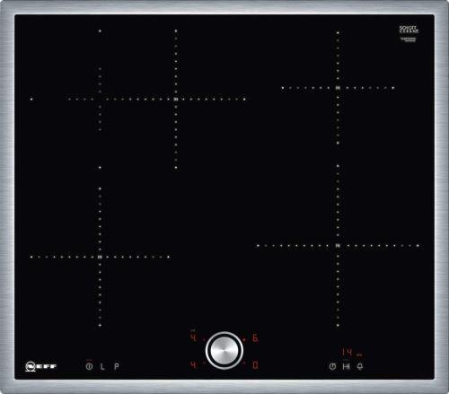 Neff T46bt60 N0 Plaque Électrique/induction/58,30 Cm/de Cuisson En Verre Céramique/noir