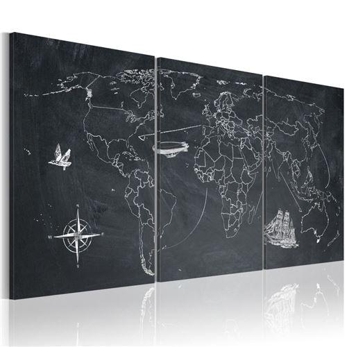 Artgeist - Tableau - Sur les traces de Christophe Colomb 60x30