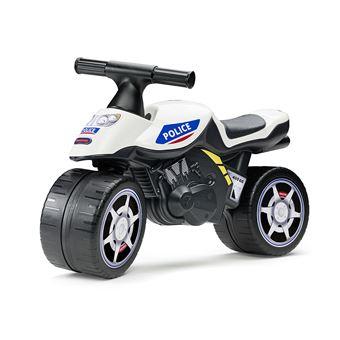 Porteur enfant moto police