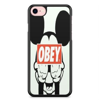 Coque iPhone 7 et iPhone 8 Mickey Fuck Obey Disney