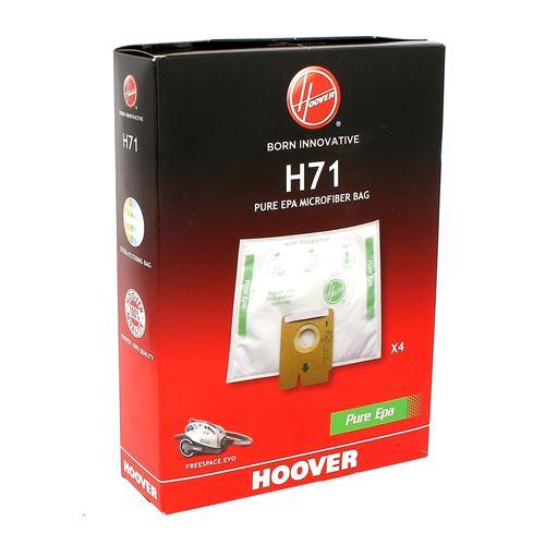Sacs aspirateur h71 freespace par 4 pour Aspirateur Hoover