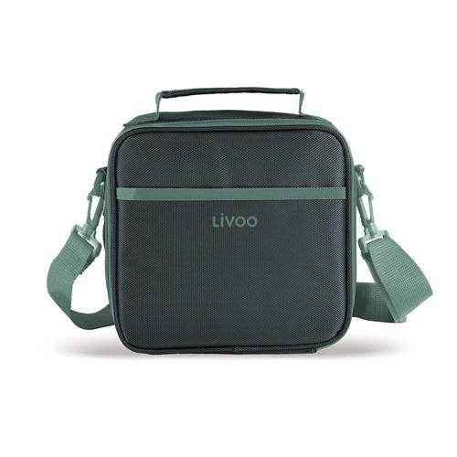 Livoo Sac à Repas Isotherme, Lunch Box SEP126R LIVOO Feel good moments Polyester Vert