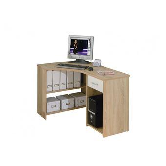 Meuble Angle Informatique 15% sur bureau d´angle meuble informatique console avec rangements