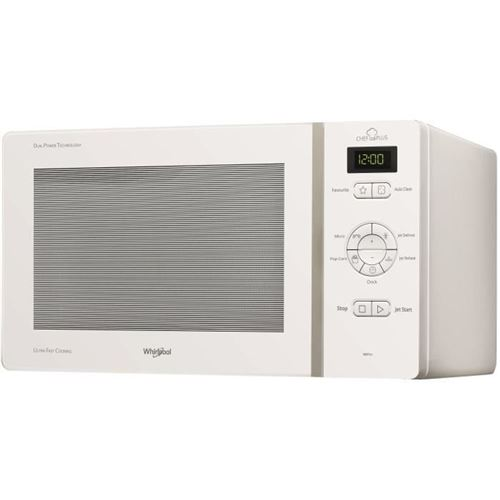 Whirlpool MCP341WH - Four micro-ondes monofonction - pose libre - 25 litres - 800 Watt - blanc