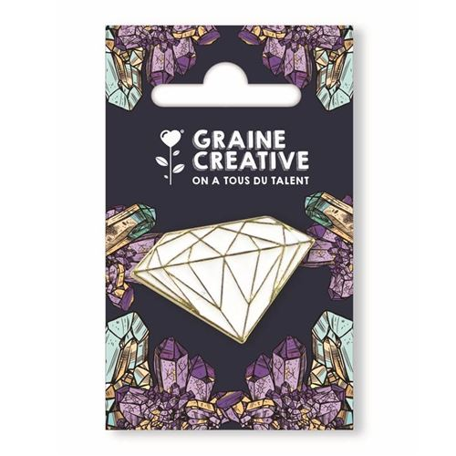 Pin's - Diamant - Graine Créative