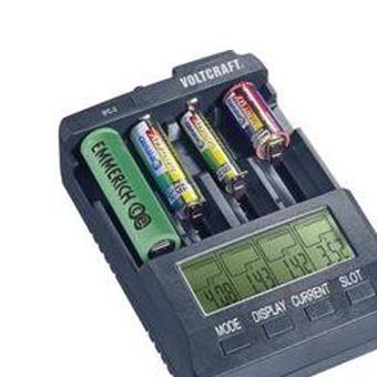 Chargeur pour piles rondes Li ion, NiCd, NiMH VOLTCRAFT IPC 3