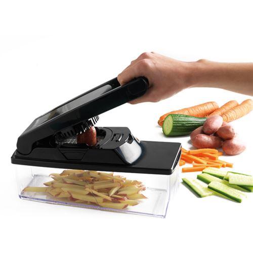 Mastrad - F21600 - Coupe-Légumes - Noir [Cuisine]