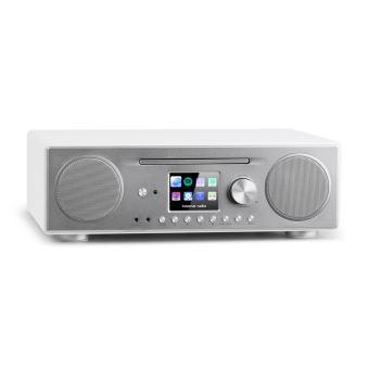 auna connect cd radio internet avec lecteur cd interface bluetooth port usb compatible mp3 et. Black Bedroom Furniture Sets. Home Design Ideas