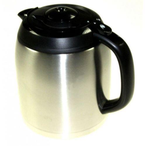 Pot thermos/ noir/ inox pour cafetiere moulinex