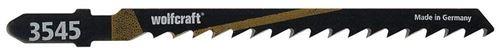 Wolfcraft 3545000 Lames SS HCS 75 mm Lot de 2