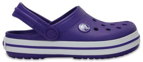 Crocs crocband enfants sabots <strong>chaussures</strong> sandales en ultraviolet blanc 204537 50l