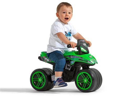 Porteur enfant Moto Kawasaki bud racing