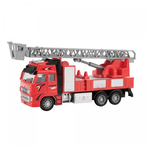 Toi-Toys camion de pompiers rouge 12 cm