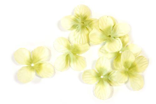 Lot de 240 pétales de fleurs en tissu Menthe - 3 cm