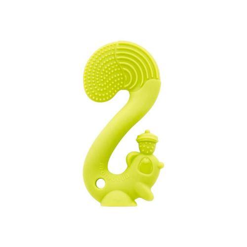 babytolove jouet de dentition ecureuil vert
