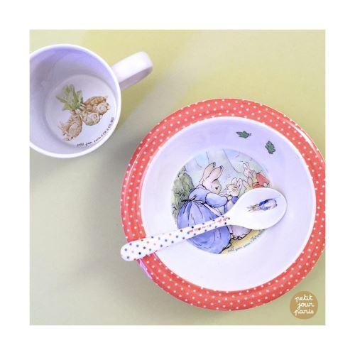 Set petit déjeuner Beatrix Potter Petit Jour Paris Multicolore
