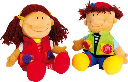 Poupées «Nicoletta Et David»
