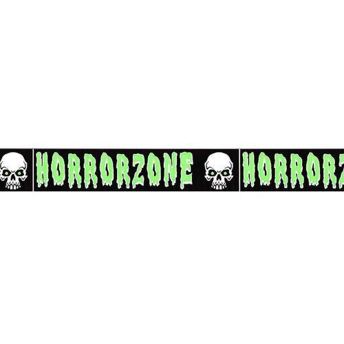 Scream Machine - Bandes d'avertissement (Taille unique) (Noir / vert / blanc) - UTSG18535